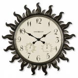 Настенные часы из металла Howard Miller 625-543 Sunburst II