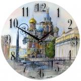 """Настенные  часы Династия 02-015 """"Спас на крови"""""""