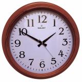 Настенные часы цвета Махагон