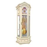 Напольные часы в цвете слоновая кость