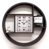 Настенные часы с полками