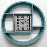 Бирюзовые настенные часы