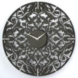 Черные настенные часы