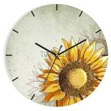 Часы из стекла Тиарелла