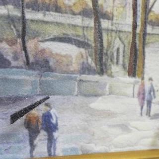Часы-картины Династия 04-001-11 Париж