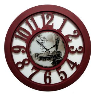 Настенные часы GALAXY DA-004 Bordo
