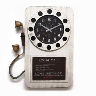 Настенные часы-телефон