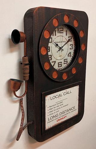 часы-телефон GALAXY DA-006 Black