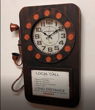 Настенные часы GALAXY DA-006 Black