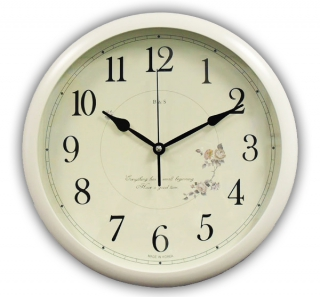 Настенные часы для дома B&S HR-371 W