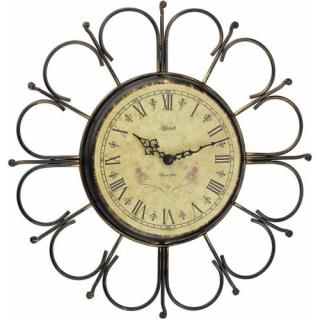 Настенные часы из металла Hermle 2100-00-896