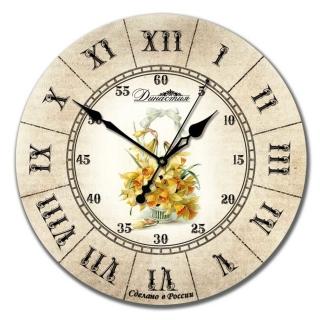 "Настенные часы Династия 02-016 ""Нарцисс"""