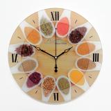 Настенные часы из стекла Династия 01-075 Ассорти