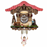 Настенные часы с маятником SARS 1793-SQ