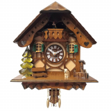 Часы со звуком кукушки SARS 0188-QPT