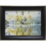 Часы-картины Династия 04-011-02 Дом у озера