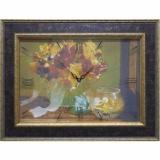 Часы-картины Династия 04-012-13 Осенний букет