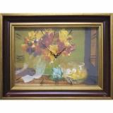 Часы-картины Династия 04-012-14 Осенний букет