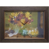 Часы-картины Династия 04-012-05 Осенний букет