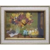 Часы-картины Династия 04-012-06 Осенний букет