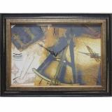 Часы-картины Династия 04-013-12 Карта
