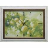 Часы-картины Династия 04-015-11 Яблоки