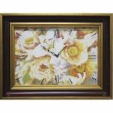Часы-картины Династия 04-002-14 Цветы
