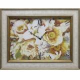 Часы-картины Династия 04-002-06 Цветы