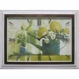 Часы-картины Династия 04-023-11 Зеленый натюрморт