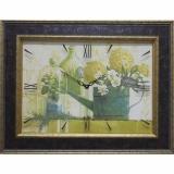 Часы-картины Династия 04-023-13 Зеленый натюрморт