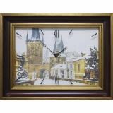 Часы-картины Династия 04-031-14 Прага