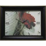 Часы-картины Династия 04-034-02 Роза