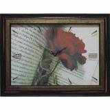 Часы-картины Династия 04-034-12 Роза