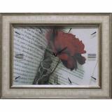 Часы-картины Династия 04-034-15 Роза