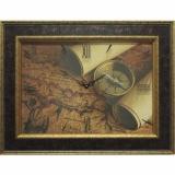 Часы-картины Династия 04-035-13 Старинная карта