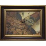 Часы-картины Династия 04-035-14 Старинная карта