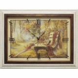 Часы-картины Династия 04-037-11 Осенний парк