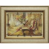 Часы-картины Династия 04-037-06 Осенний парк