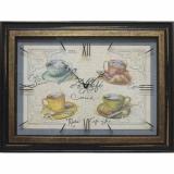 Часы-картины Династия 04-039-12 Чашка кофе