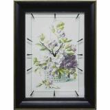 Часы-картины Династия 04-041-02 Цветочная корзина