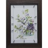 Часы-картины Династия 04-041-05 Цветочная корзина