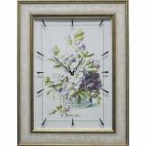 Часы-картины Династия 04-041-06 Цветочная корзина