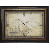 Часы-картины Династия 04-043-12 Старый корабль