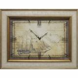 Часы-картины Династия 04-043-06 Старый корабль
