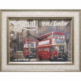 Часы-картины Династия 04-044-15 Лондон