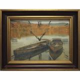 Часы-картины Династия 04-045-14 Лодки