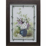 Часы-картины Династия 04-049-05 Цветы в вазе