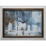 Часы-картины Династия 04-009-11 Дождь