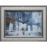 Часы-картины Династия 04-009-15 Дождь