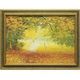 Дизайнерская картина Династия 05-013-01 Осенняя прогулка